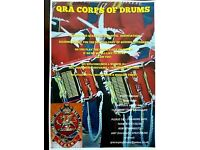 QRA Corps of Drums - Drummers & Flute/Bugle Players Wanted
