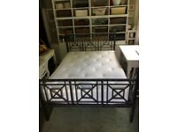 Solid steel Double Bed