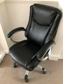 LEATHER OFFICE CHAIR Very Comfy