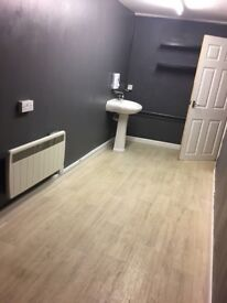 Bedsit two rooms toilet and shower