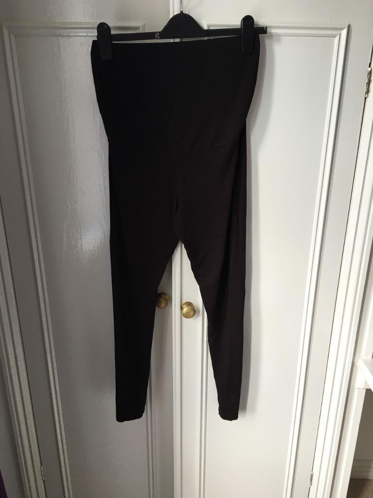 Size 12L maternity leggings from Next