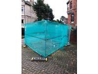 Building / skip temporary fencing & posts