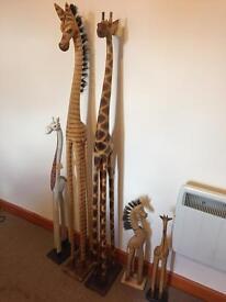 Ornaments Giraffes
