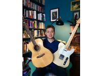 Guitar and Ukulele Lessons available!