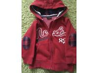 NEXT hooded top 1.5-2 years