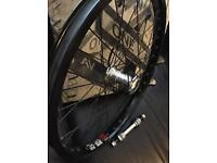 Bmx front wheel profile hub
