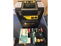 Job lot tools makita drill Stanley ect