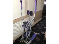 Cross trainer exerciser
