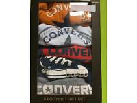 Baby converse bodysuits