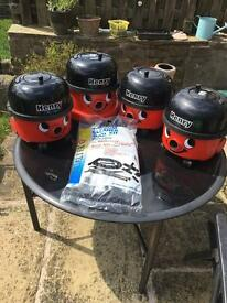 Henry hoovers