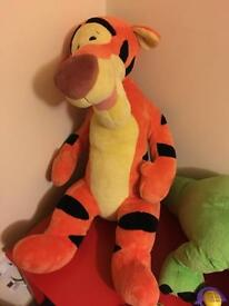 Large exclusive Disney store Tigger