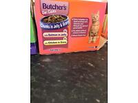 26 CAT FOOD Pouches
