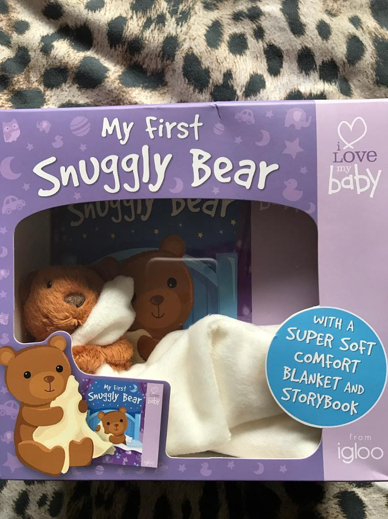 My first snuggly bear NEW in box