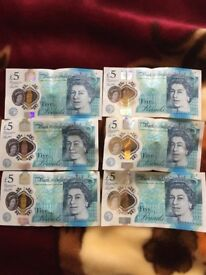 New £5 note with AA