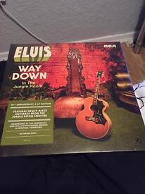 Elvis Presley the 40th anniversary 2-LP edition unopened and the wonder off you limited edition