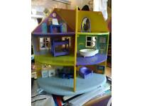 Peppa Pig House used as new