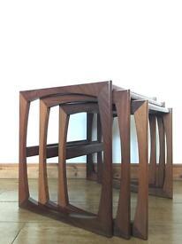 SOLD Mid century vintage retro G plan Nesting Tables
