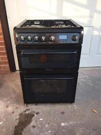Hotpoint cooker Gas 600mm wide