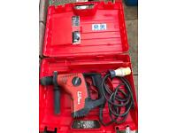 Genuine HILTI TE 7-C Rotary Hammer Drill 110v