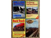 500 Railway magazines + dvds