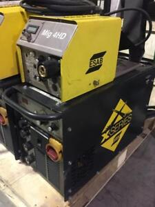 Used ESAB MTS 3500i w/ MIG-4HD Wire Feeder (Like Miller XMT 350)