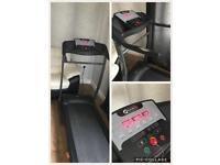 Electric motorised treadmill