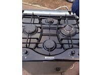 Black Hotpoint Gas Hob Fully Working Order Vgc Just £20 Sittingbourne