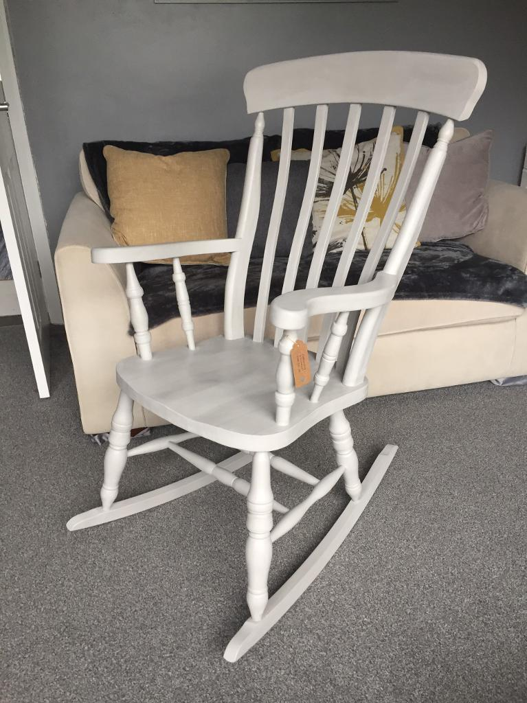 Solid wood Rocking Chair  in Plymouth, Devon  Gumtree