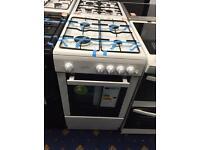New Ex-Display Statesman Studio 50cm Gas Cooker White 2 Year Guarantee £199