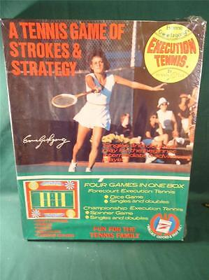 1973 RARE Tennis Game of Strokes & Strategy Evonne Goolagong's Execution 4 - 4 Stroke Games