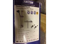 Triton mixer bar showers with all the bits