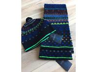 Paul Smith hat and scarf set bnwt rrp £220 plus