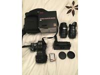Olympus e500 dslr bundle 3 lenses