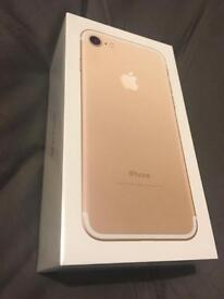 iPhone 7 256GB Brand New Sealed (Gold)