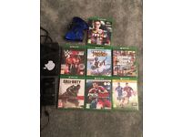 X box one with 7 games