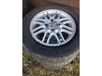 FORD FIESTA FOCUS ALLOY WHEELS TYRES SET 4