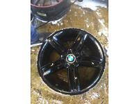 "18"" GENUINE BMW 1 SERIES SINGLE ALLOY WHEEL"
