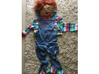 Chucky fancy dress costume
