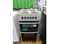 Beko 50cm electric cooker free delivery in Derby