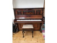 Piano for sale - uplift must be arranged by buyer