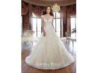STUNNING SOPHIA TOLLI WEDDING GOWN STYLE Y21509