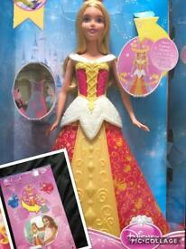 Disney Aurora magical dress bnib