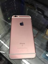 Apple iPhone 6s , unlocked to any network no scretches no marks