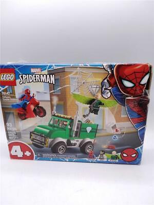 Lego Marvel Spider-Man Vulture's Trucker Robbery 76147 93 pcs Distressed Box