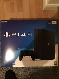 PS4 PRO 1TB HARDY USED