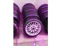 """Bmw Mv1 18"""" Alloy Wheels Can Sell Single Can Post Part Ex Welcome EXCELLENT CONDITION"""
