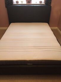 King Size Bed Frame and Pocket Sprung Mattress - Offers