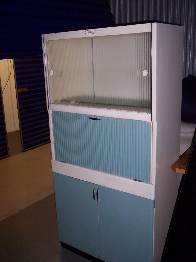 Retro Kitchen Cabinet 1950 S Kitchenette Larder Cupboard