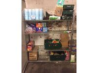 Storage Shelves X 2. Retail.