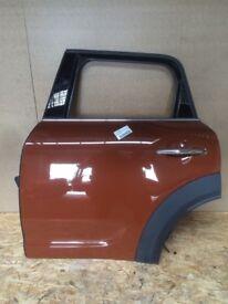 Complete Door Rear Left Near Side Mini F60 Countryman Chestnut C1V